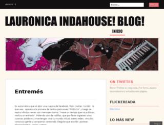 lauronica.wordpress.com screenshot