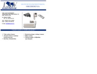 lav-elektronik.backabanat.com screenshot