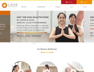 lava-yoga-global.com screenshot