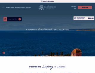 lavalencia.com screenshot