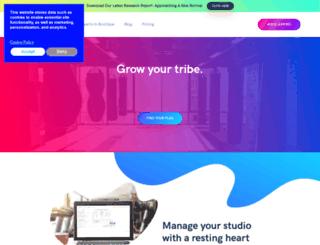 lavationstudio.zingfit.com screenshot