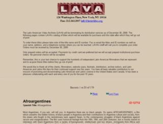 lavavideo.org screenshot