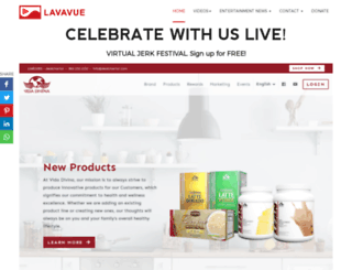 lavavue.com screenshot