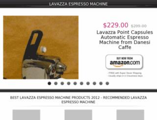 lavazzaespressomachine.lowpriceshop.us screenshot