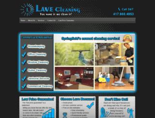 lavecleaning.com screenshot