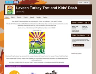 laveenturkeytrot.itsyourrace.com screenshot