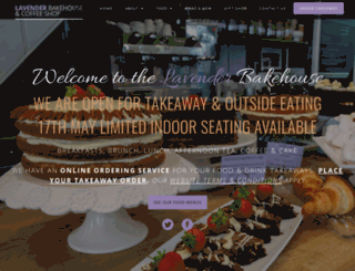 lavenderbakehouse.co.uk screenshot