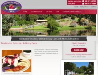 lavenderberryfarm.com.au screenshot