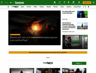 lavenir.net screenshot