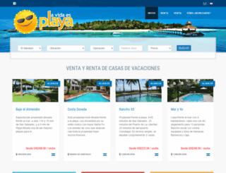 lavidaesplaya.com screenshot