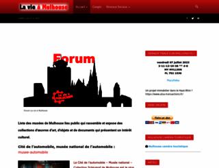 lavieamulhouse.com screenshot