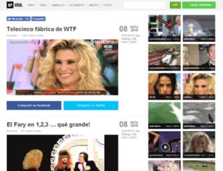 laviralizadora.com screenshot