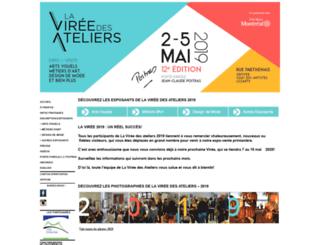 lavireedesateliers.com screenshot
