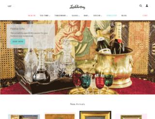 lavishshoestring.com screenshot