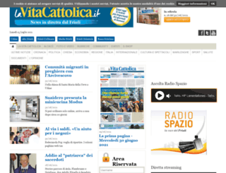 lavitacattolica.it screenshot