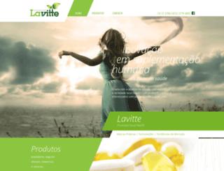 lavitte.com.br screenshot