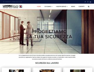 lavorasicuro.net screenshot