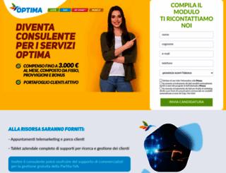 lavoro.optimaitalia.com screenshot