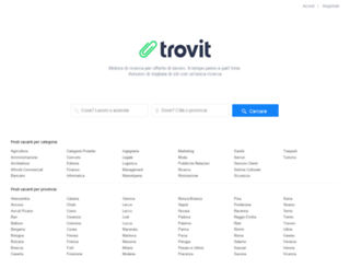 lavoro.trovit.it screenshot