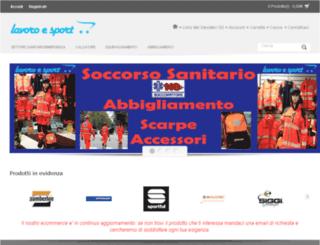 lavoroesport.com screenshot