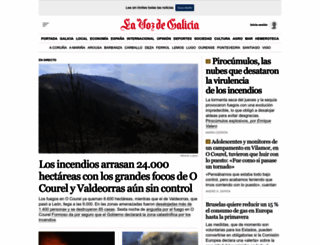 lavozdegalicia.es screenshot