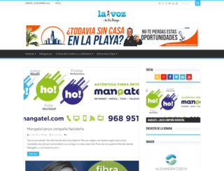 lavozdelamanga.com screenshot