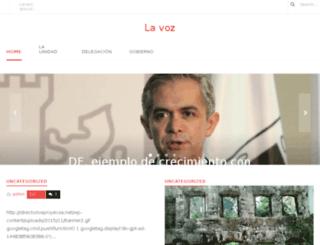 lavozdelaunidad.com screenshot