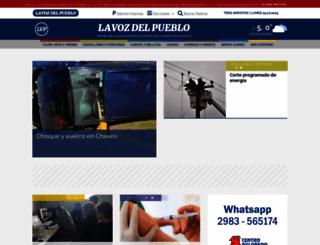 lavozdelpueblo.com.ar screenshot