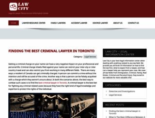 law-city.com screenshot