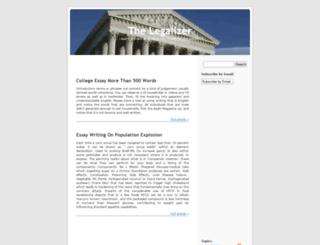 law.taragana.net screenshot