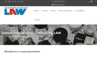 law.zgora.pl screenshot