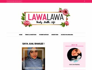 lawalawa.blogspot.com screenshot