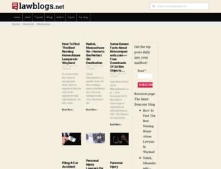 lawblogs.net screenshot