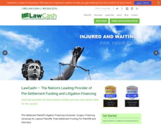 lawcash.net screenshot