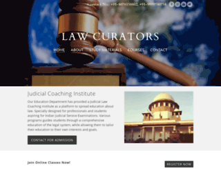 lawcurators.com screenshot