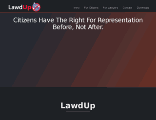 lawdup.com screenshot