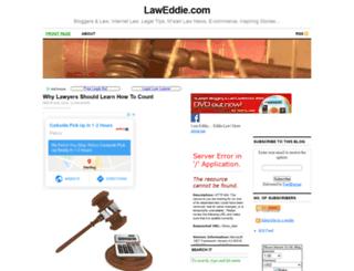 laweddie.com screenshot