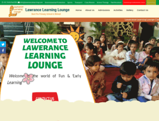 lawerancelearning.com screenshot