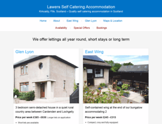 lawers-self-catering.co.uk screenshot
