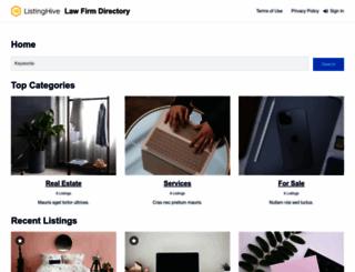 lawfirm-directory.com screenshot