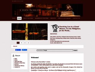 lawfirm.chanrobles.com screenshot