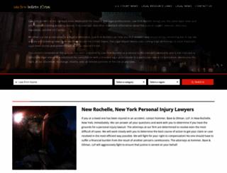 lawfirmbulletin.com screenshot