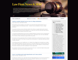 lawfirmseo101.com screenshot