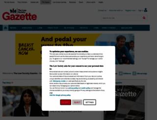 lawgazette.co.uk screenshot