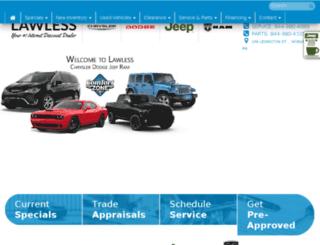 lawlesscj.com screenshot