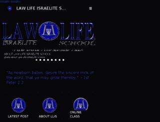 lawlife.isteaching.com screenshot