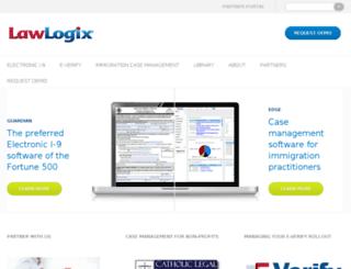 lawlogix.mighty-site.com screenshot