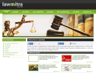 lawmitra.com screenshot