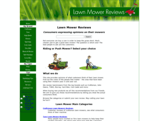 lawn-mowers-review.com screenshot