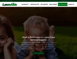 lawnaide.com screenshot